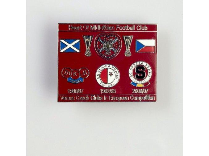 Odznak FC Heart of Midlothian 1986 1992 2006