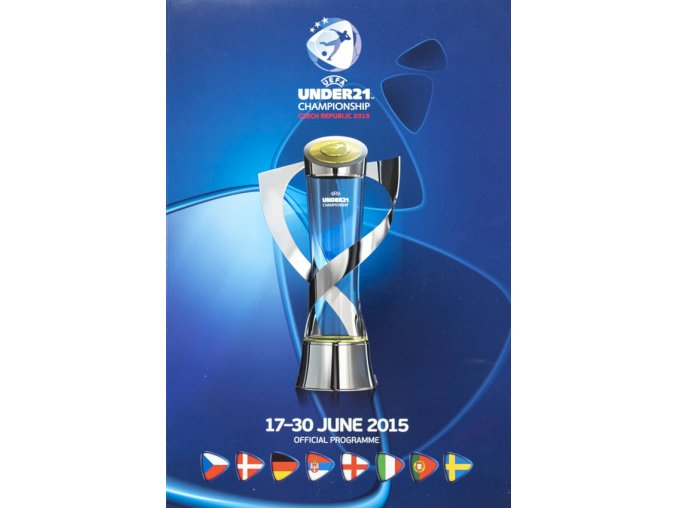 Official program, Under 21, EUFA, Czech. rep., 2015