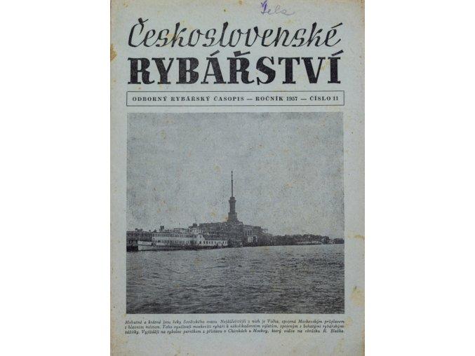Časopis Československé Rybářství, 111957