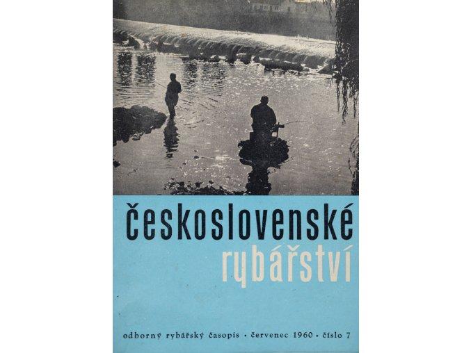 Časopis Československé Rybářství, 71960