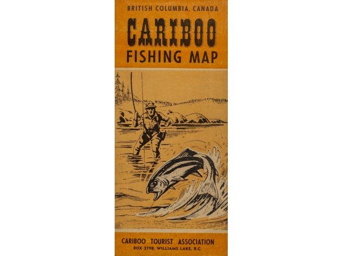 Rybářská mapa, B. Columbia, CARIBOO