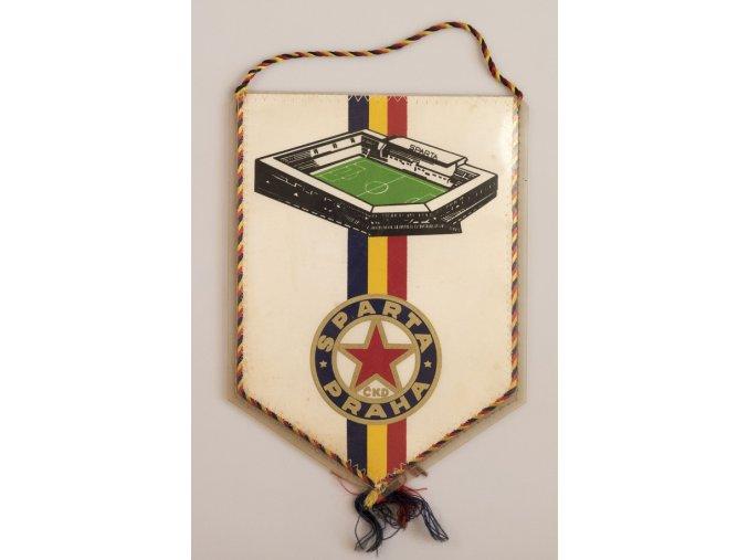 Klubová vlajka Sprta Praha ČKD Stadion