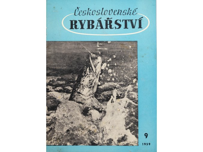 Časopis Československé Rybářství, 91959