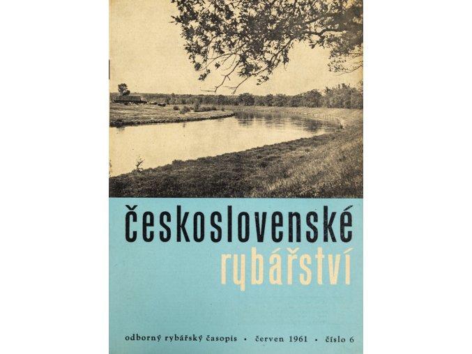 Časopis Československé Rybářství, 61961