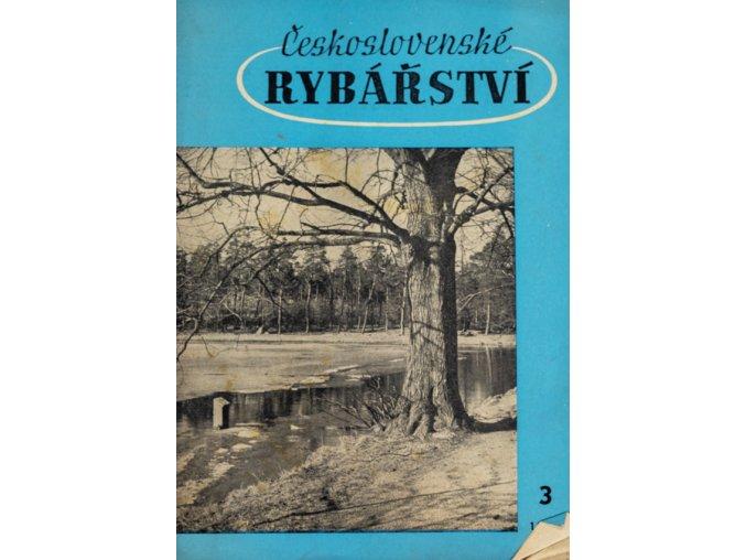 Časopis Československé Rybářství, 31959