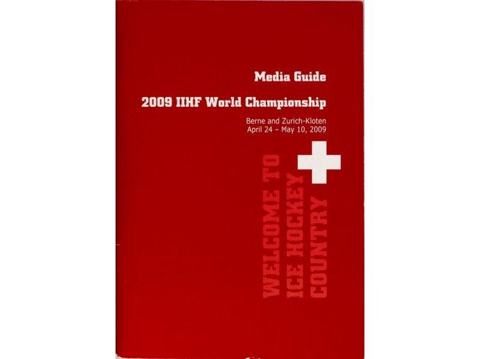 Media Guide 2009 IIHF WCH hockey Zurich Kloten