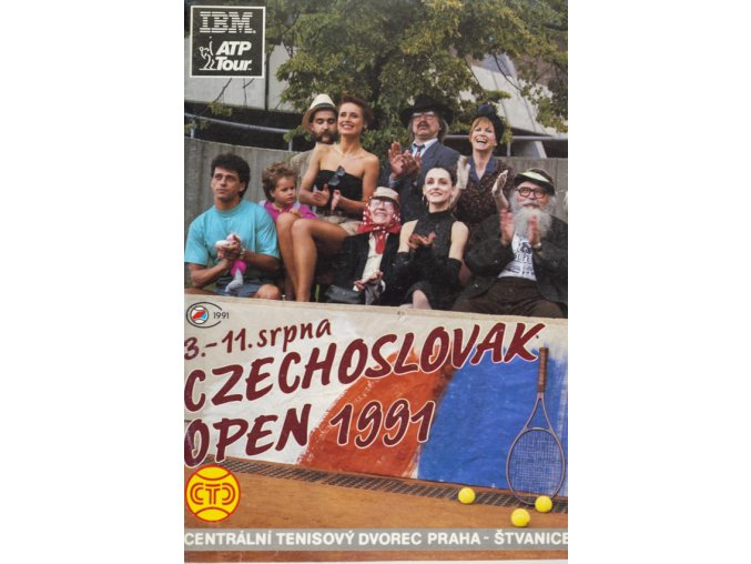 Program tennis Czechoslovak open, 1991