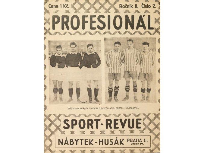 Časopis PROFESIONÁL, Ročník II., Číslo 2.