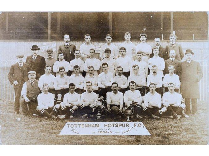 Pohlednice tým TOTTENHAM Hotspur 1904 05