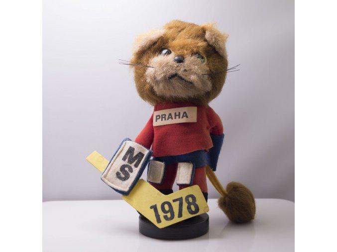 Maskot MS hokej Praha 1978
