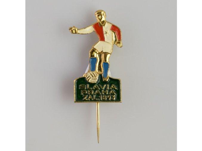 Odznak Slavia fotbalista, založeno 1893