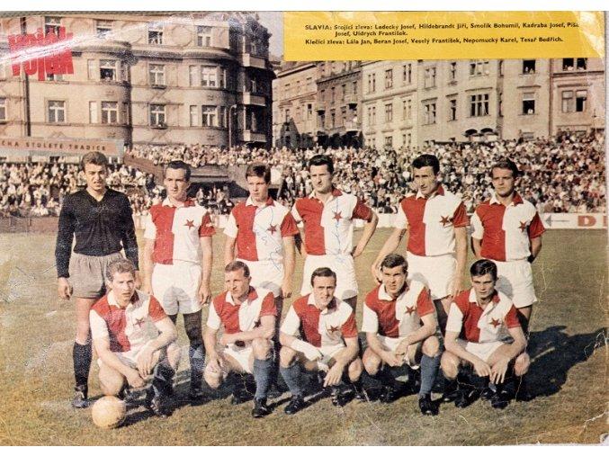 Plakát S.K. Slavia Praha