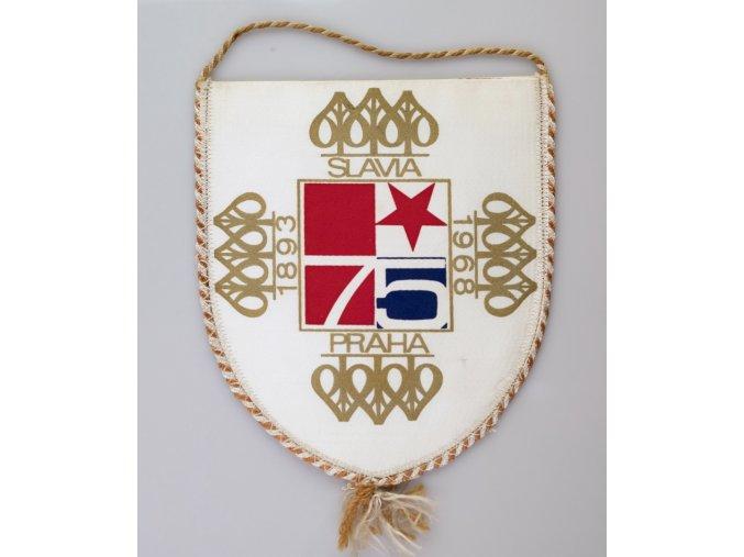 Vlajka 75 let SK SLAVIA PRAHA