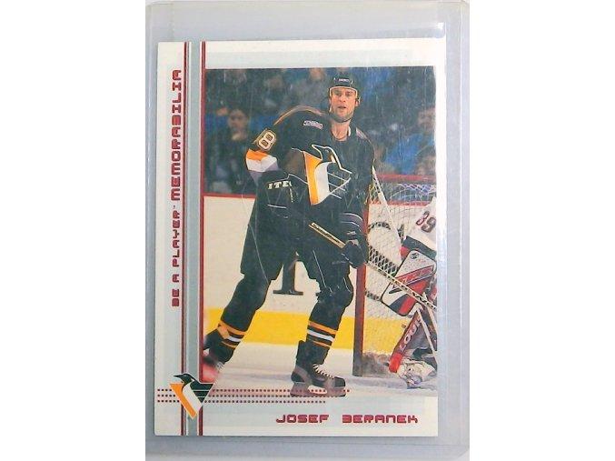 hokejova karticka josef beranek 2000