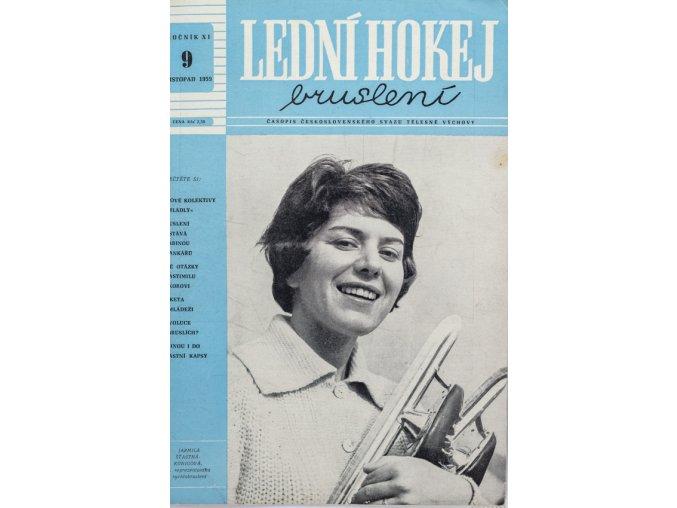 Časopis Lední hokej, bruslení, 91959 (1)