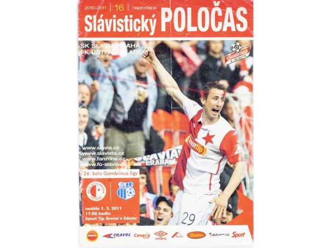 Poločas Slavia FK Ústí nad Labem, 2011