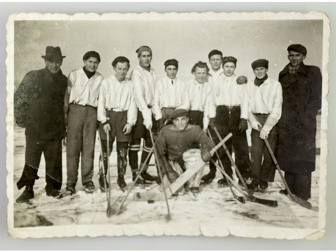 Fotografie hokejový team