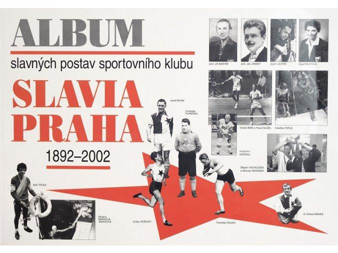 Kniha Album slavných postav SK Slavia