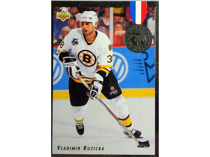 hokejova karticka vladimir ruzicka 1992