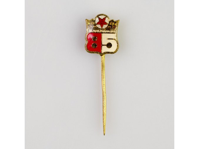 Odznak TJ SLAVIA PRAHA 85 let