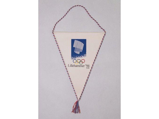 Klubová vlajka Lillehammer 1994, zimní OH