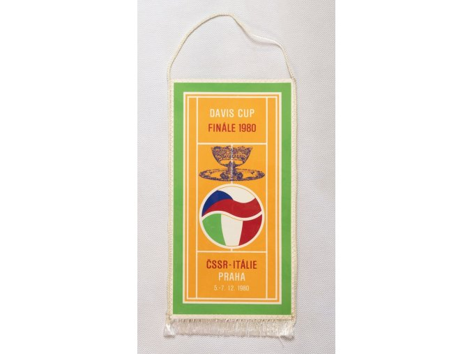 Klubová vlajka Davis cup Final 1980
