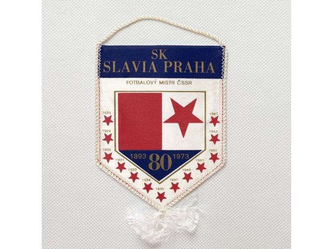 Autovlajka SK SLAVIA PRAHA 80 let mistr ČSSR