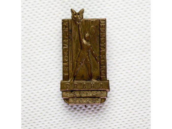 Odznak tělocvičná jednota Sokol Praha, Bílá Hora