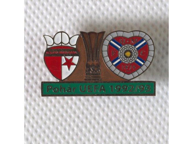 Odznak UEFA 92 93 FHMC 1874 vs. Slavia GRE.dng