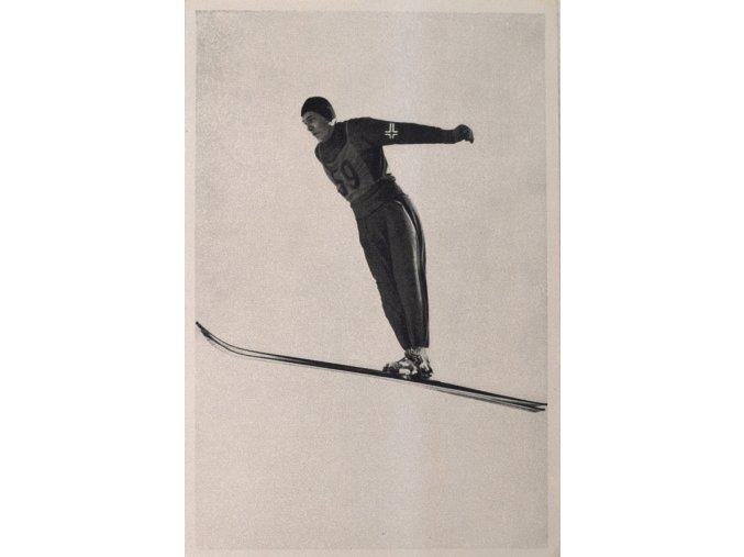 Kartička Olympia 1936, Berlin. Oddbjorn Hagen.dng