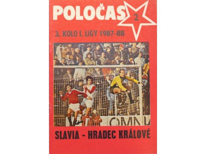 POLOČAS SLAVIA Praha vs. Hradec Králové 1987 88 ( 2 )DSC 8333.dng