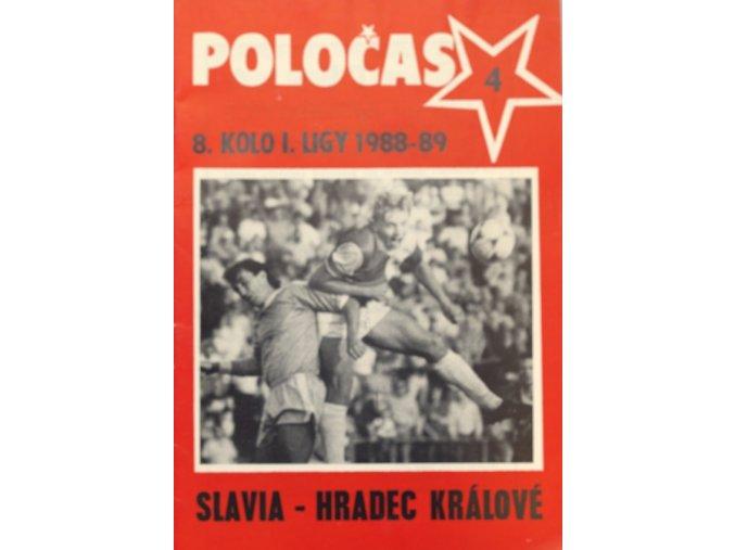 POLOČAS SLAVIA Praha vs. Hradec Králové 1988 89 ( 4 )DSC 8341.dng