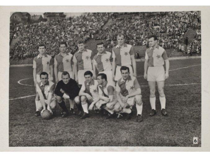 Fotofrafie fotbalistů SK SLAVIA PRAHA (6) cca 50 léta minulého století.DSC 8438.dng