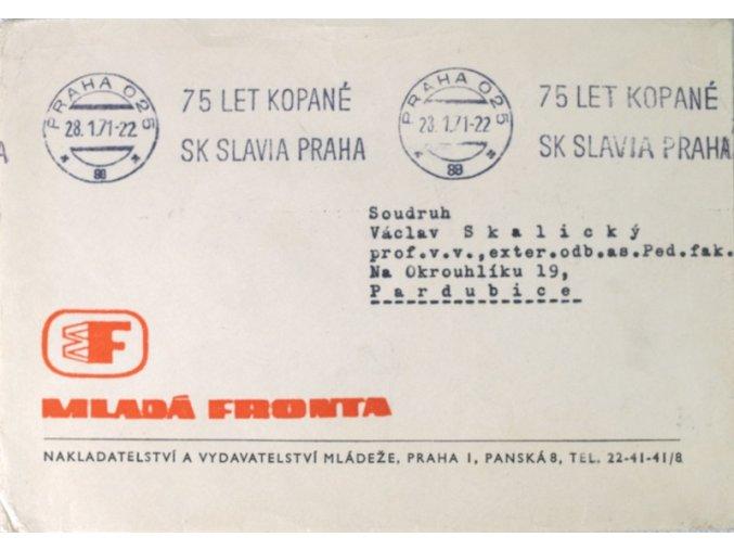 FDC CELISTVOST 75 let kopané SK SLAVIA PRAHA Mladá frontaDSC 8445.dng