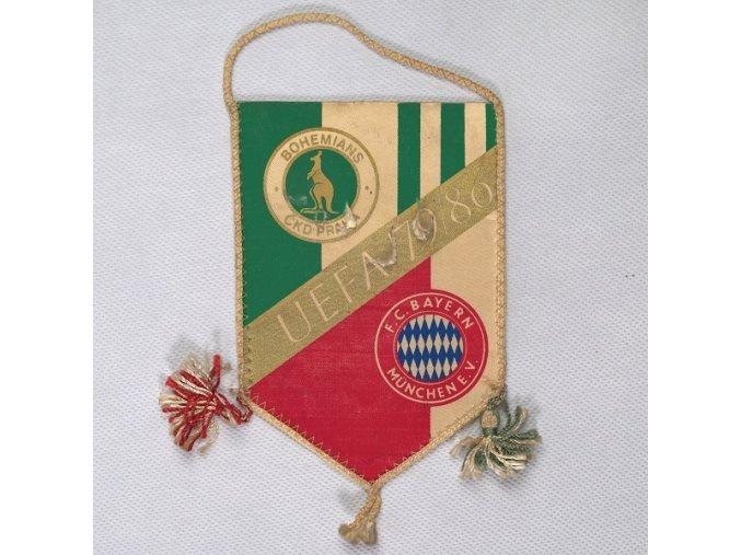 Vlajka klubová Bohemians vs. F.C. BAYERN Munchen E.V.DSC 8369.dng