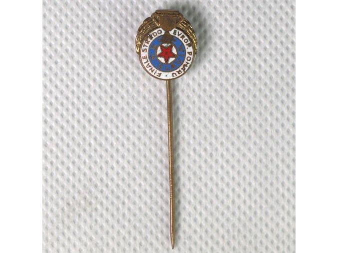 Odznak SK SLAVIA PRAHA finále tředoevropského poháru 1938DSC 8663.dng