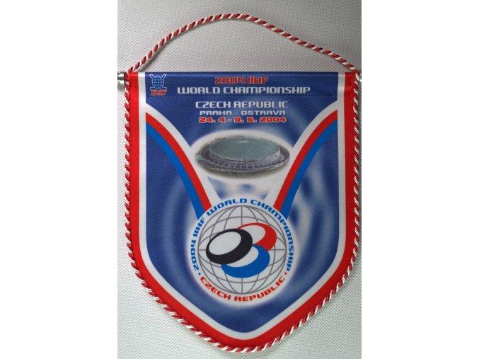 Klubová vlajka MS 2004 v hokeji, PrahaDSC 9895.dng