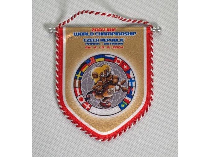 Klubová vlajka MS 2004 v hokeji, PrahaDSC 8522.dng
