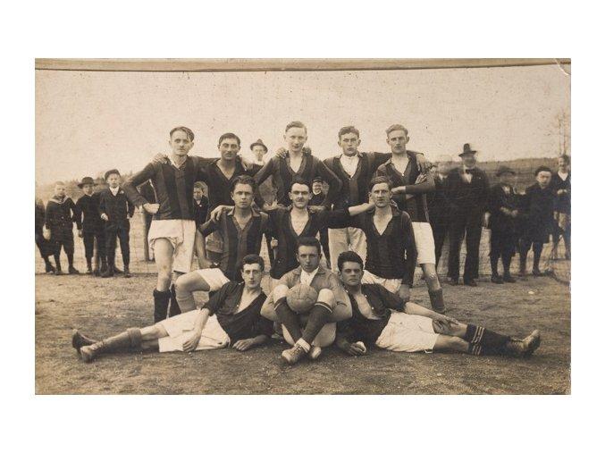 Pohlednice Fotbalový tým 1926DSC 9861.dng