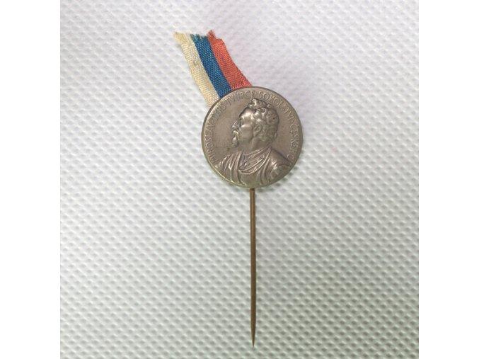 Odznak Miroslav Tyrš, tvůrce sokolství českého.DSC 9856.dng