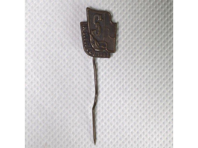 Odznak IX. sjezd ČOS 1954DSC 9852.dng