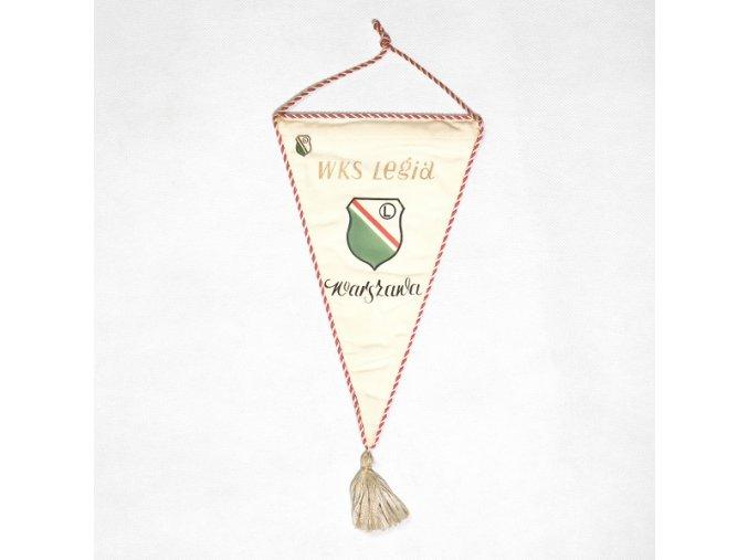 Klubová vlajka WKS Legia WarsawaDSC 8591