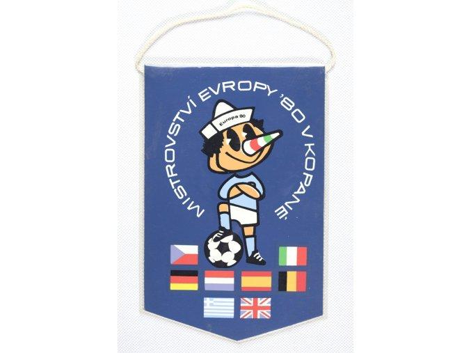 Vlajka klubová MS Europa 1980, kopanáDSC 8642