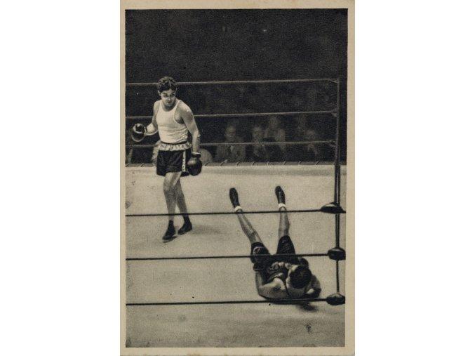 Kartička Olympia 1932, L.A., California. USA, Azar, BoxDSC 8544