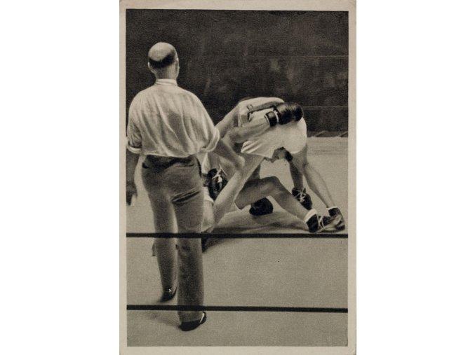 Kartička Olympia 1932, L.A., California. USA, Campe, BoxDSC 8548