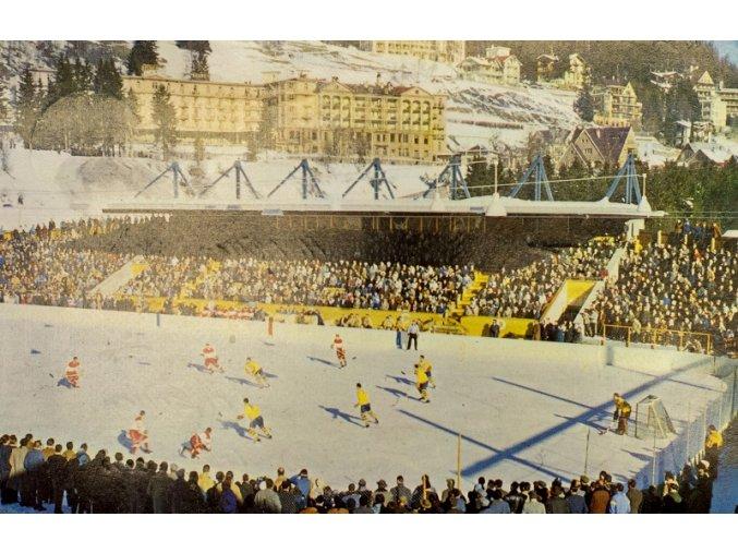 Pohlednice DAVOS eishockey stadionDSC 9932