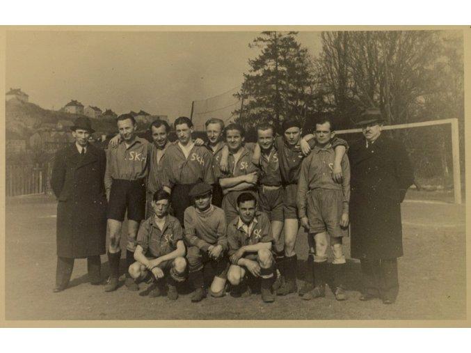 Dobová fotografie fotbalový tým SKHDSC 9924