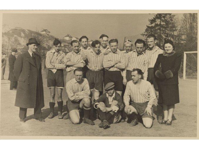 Dobová fotografie fotbalový tým na horáchDSC 9921