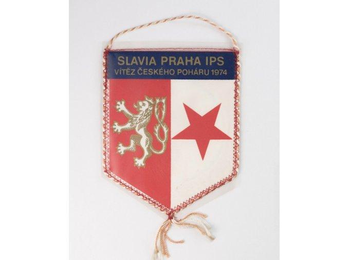 Vlajka Slavia Praha IPS, vítěz poháru 1974DSC 9996 1 (129)