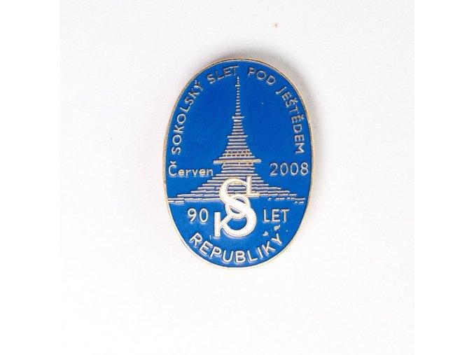 Odznak, Sokolský slet po Ještědem, 2008, 90 letDSC 9996 1 (59)